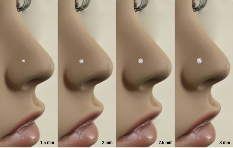 How To Choose The Perfect Fit Diamond Nose Rings