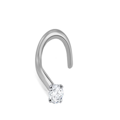 316l Surgical Steel 1 3mm Genuine Diamond Nose Ring Diamond Nose