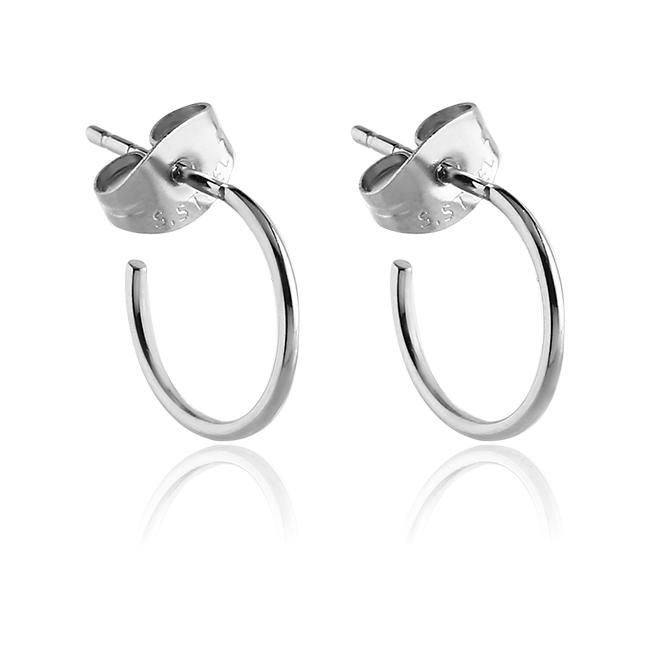 Steel Earring Hoops