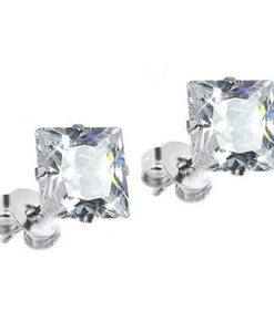 square-silver-earrings