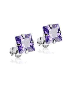 purple-earring-studs