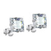 square-clear-earrings