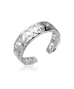 peace-toe-ring