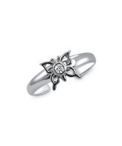 butterfly-cz-toe-ring