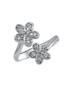 double-flower-toe-ring