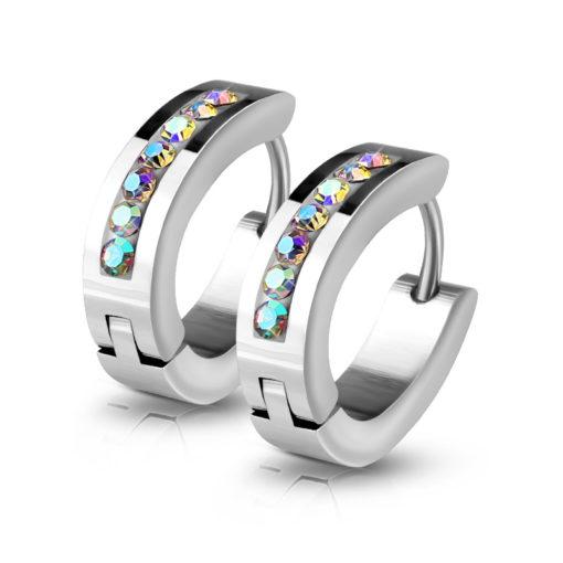 aurora-huggie-earrings