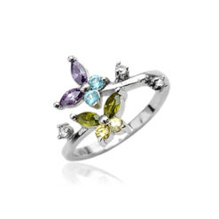 colorful-butterfly-toe-ring