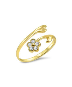 gold-flower-toe-rings
