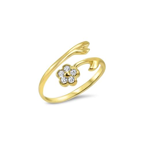 gold-flower-toe-rings