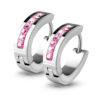 pink-huggie-earrings