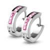 pink-huggie-earrings