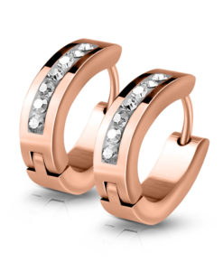 rose-gold-huggie-earrings