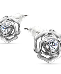 silver-rose-earrings
