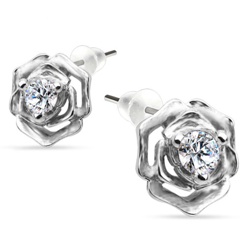 silver-rose-earrings