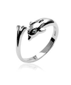dolphin-toe-ring