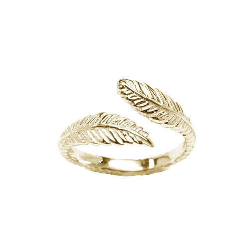 feather-toe-ring