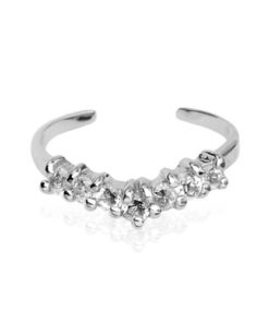 silver-toe-ring