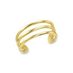 triple-band-toe-ring