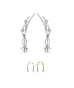 Silver and Gold Ear Vine Crawler